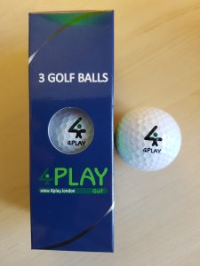 4PLAY - PREMIUM DISTANCE GOLF BALLS